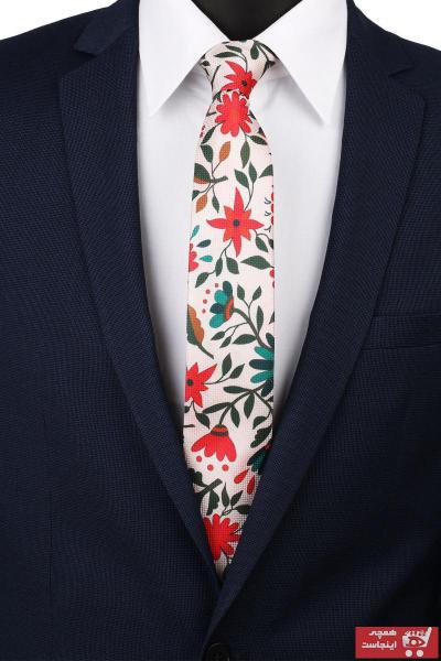 کراوات مردانه مدل 2021 برند La Pescara رنگ بژ کد ty4775617