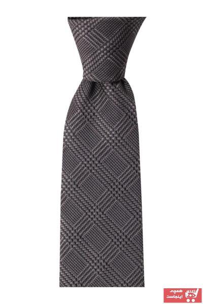 خرید مستقیم کراوات مردانه جدید برند 1001 Kravat رنگ نقره ای کد ty48130339