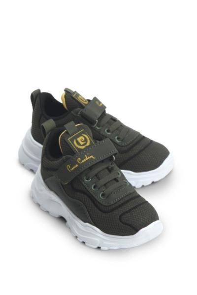خرید  کفش اسپرت بچه گانه پسرانه مارک پیرکاردن رنگ خاکی کد ty48444110