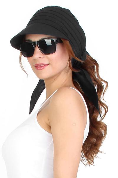 حرید اینترنتی کلاه زنانه ارزان برند Mossta رنگ مشکی کد ty4910628