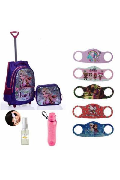 فروشگاه کیف مدرسه بچه گانه دخترانه  برند Mashotrend رنگ بنفش کد ty49236876