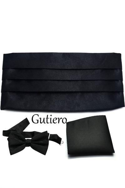 فروش پستی ست پاپیون برند Gutiero رنگ مشکی کد ty49835178