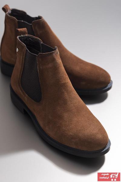 کفش بوت مردانه تابستانی برند تونی بلک رنگ قهوه ای کد ty50077567