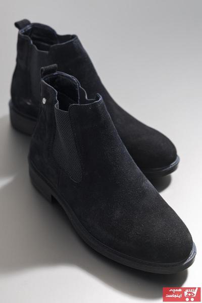 کفش بوت 2021 مدل جدید برند تونی بلک اورجینال رنگ مشکی کد ty50077589