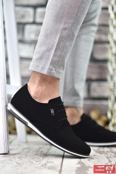 خرید کفش کلاسیک 2020 مردانه برند Marsetti رنگ مشکی کد ty50893598