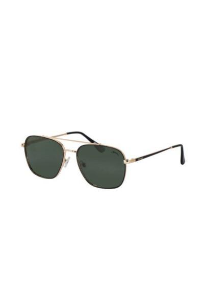 عینک دودی مردانه اسپرت جدید برند اسلازنگر رنگ طلایی ty53006195