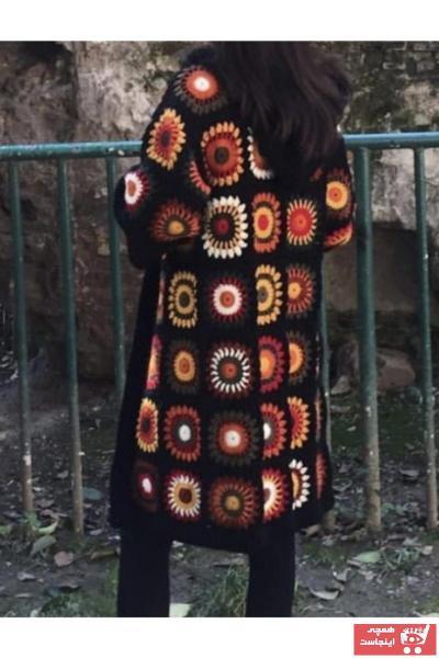 ژاکت بافتی زنانه ارزان برند El Emeği رنگ مشکی کد ty54858301