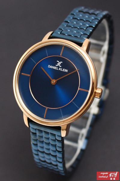 خرید پستی ساعت زنانه 2021 برند Daniel Klein رنگ لاجوردی کد ty54947303