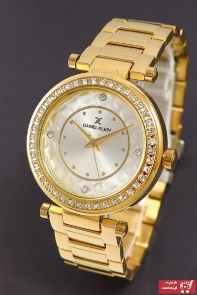 خرید ساعت زنانه برند Daniel Klein رنگ طلایی ty54992798