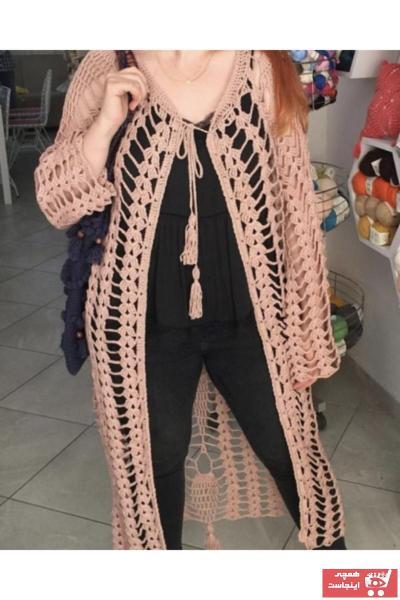 فروش پستی ست ژاکت بافتی زنانه برند El Emeği رنگ صورتی ty55394208