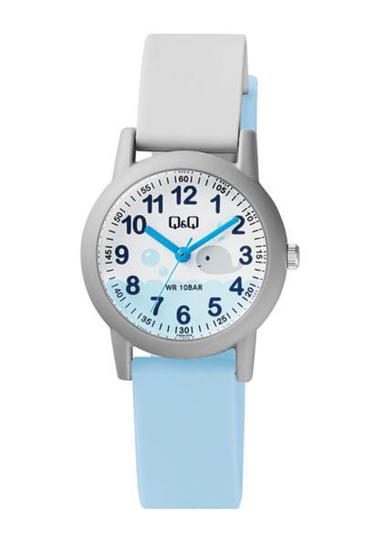 سفارش نقدی ساعت دخترانه برند Q&Q رنگ نقره ای کد ty55711788