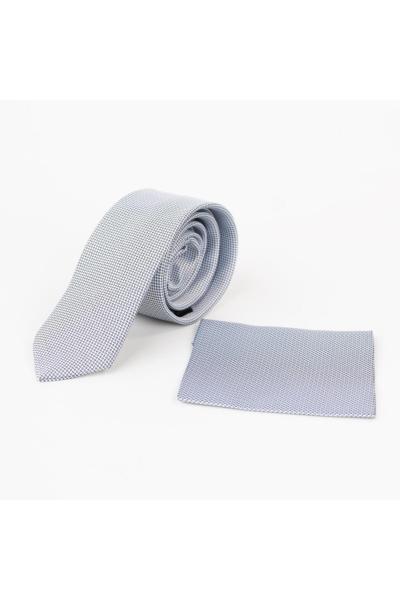 کراوات مردانه اصل شیک برند AKÇAYLAR رنگ نقره ای کد ty56597457