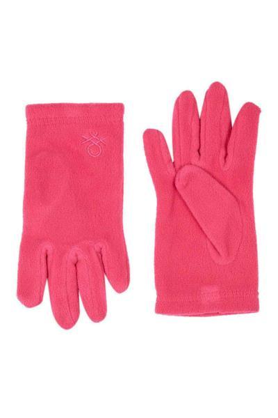 دستکش ارزان بچه گانه پسرانه برند United Colors of Benetton رنگ صورتی ty57373279