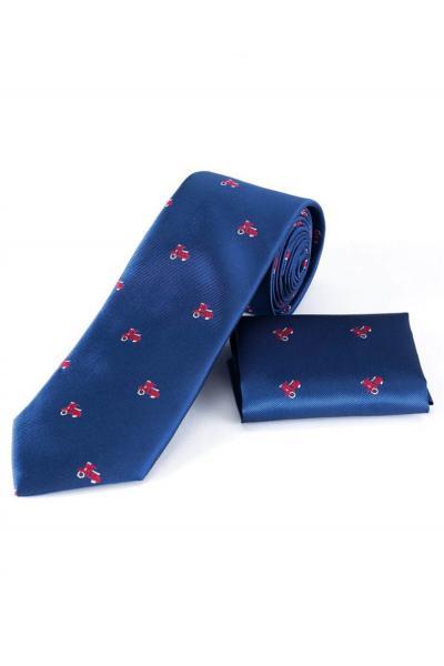 فروش کراوات مردانه ترک مجلسی برند Tudors رنگ آبی کد ty57414013