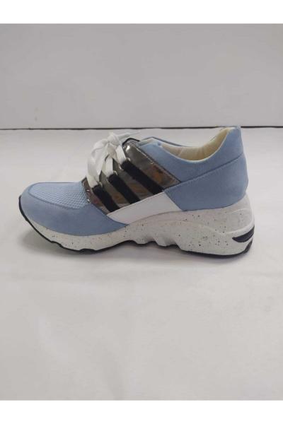 کفش اسپرت بچه گانه دخترانه شیک جدید برند PUNTO رنگ بژ کد ty58928656