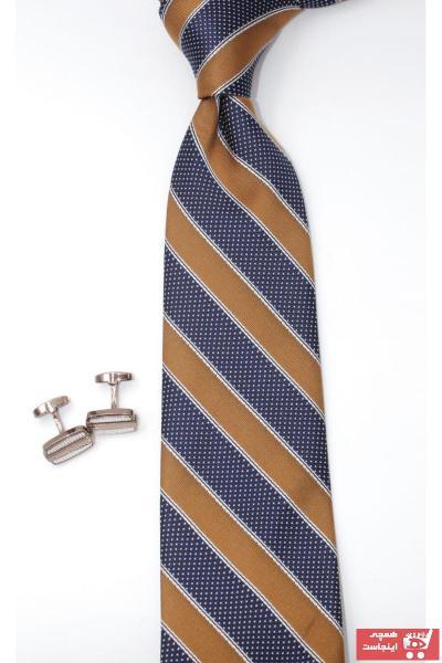 خرید مستقیم کراوات مردانه جدید برند CROATE رنگ لاجوردی کد ty59124039