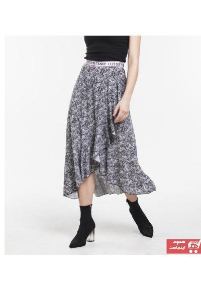 دامن شیک زنانه برند QE&QE رنگ مشکی کد ty59803759