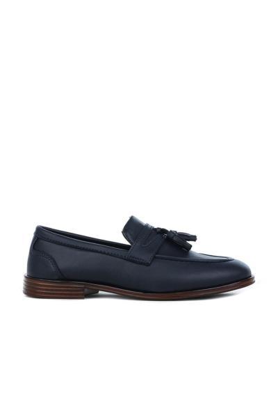 خرید نقدی کفش کلاسیک مردانه فروشگاه اینترنتی برند Gınnex رنگ لاجوردی کد ty62226165