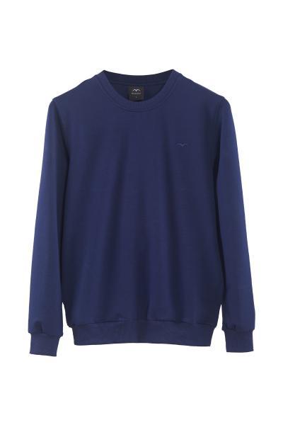 خرید سویشرت غیرحضوری برند Minimalist رنگ لاجوردی کد ty63057358
