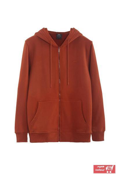 سویشرت زنانه اسپرت جدید برند Minimalist رنگ نارنجی کد ty63057710