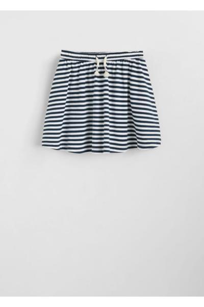 خرید انلاین دامن دخترانه خاص برند مانگو رنگ لاجوردی کد ty6375300