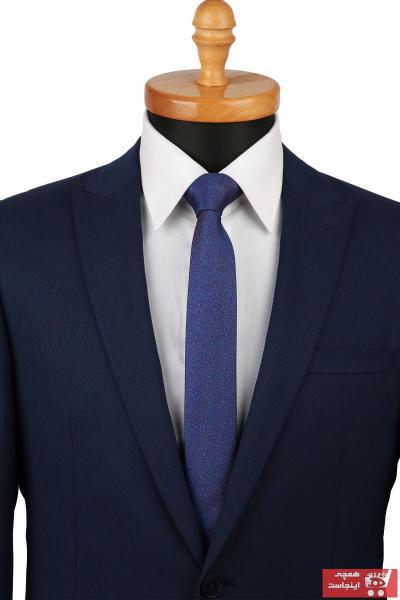مدل کراوات مردانه برند La Pescara رنگ آبی کد ty6596163