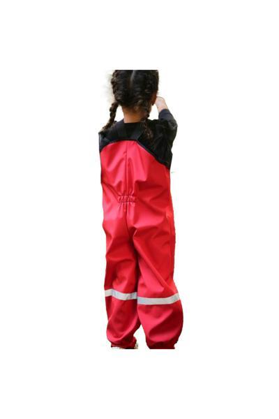 سرهمی بچه گانه مارک دار برند JO&JUKE رنگ قرمز ty66081722