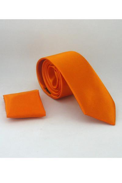 خرید اسان کراوات مردانه اورجینال برند Gaffy رنگ نارنجی کد ty6700710