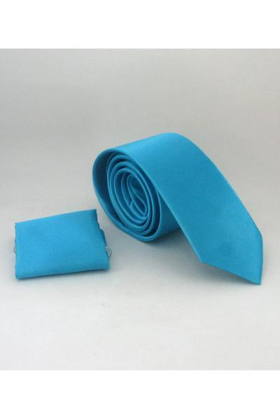 خرید انلاین کراوات مردانه ترکیه برند Gaffy رنگ فیروزه ای ty6701631
