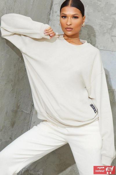 فروش سویشرت زنانه فانتزی برند Millionaire رنگ بژ کد ty68224081