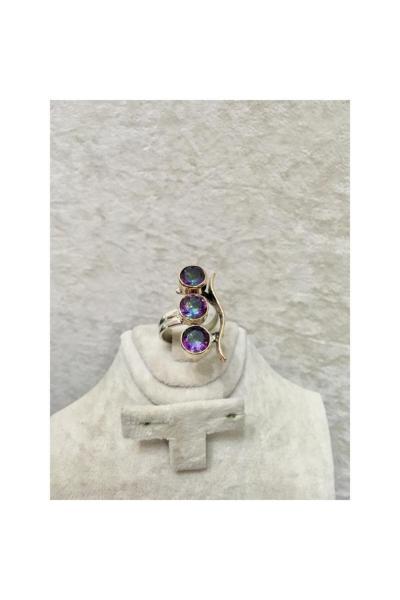 خرید انلاین انگشتر جدید زنانه شیک برند BY GÜLSÜN رنگ بنفش کد ty6999207