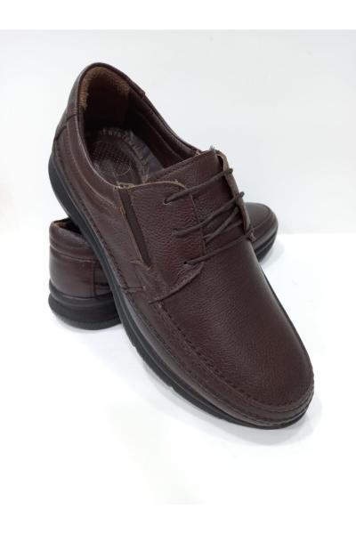 کفش کلاسیک مردانه مارک دار برند ATA COMFORT رنگ قهوه ای کد ty70365506