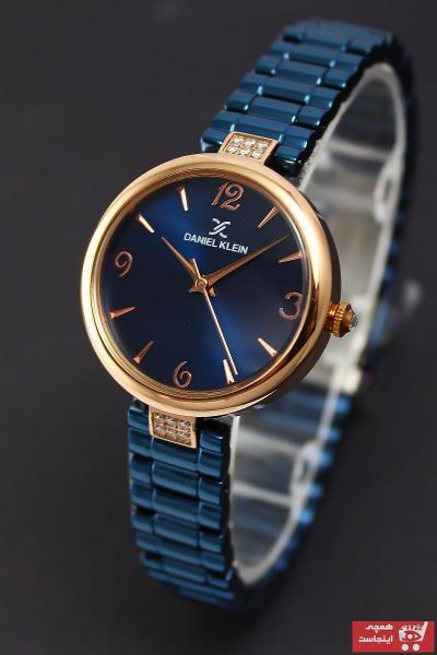 خرید ساعت زنانه برند Daniel Klein رنگ نقره ای کد ty7148330