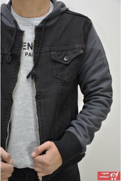 فروش ژاکت مردانه خفن برند Ecarte Jeans رنگ مشکی کد ty72858987