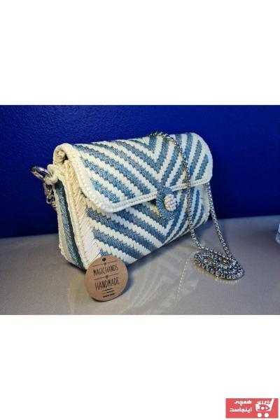 کیف مجلسی زنانه قیمت برند magicbyhandsart رنگ نقره ای کد ty73321428