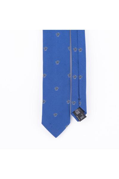 کراوات مردانه اورجینال برند ورساچ رنگ آبی کد ty73361612