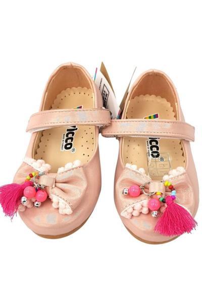 کفش تخت نوزاد دخترانه برند Vicco رنگ صورتی ty78016616