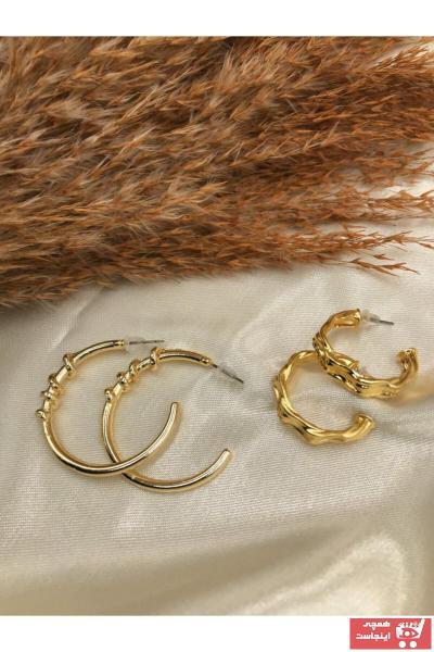گوشواره زیبا زنانه برند Eylülün Takısı رنگ طلایی ty79913706