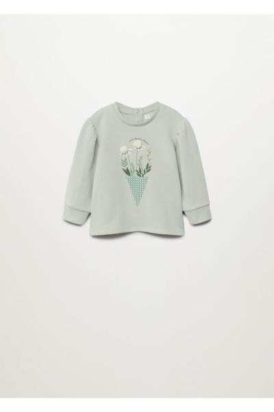 فروشگاه سویشرت نوزاد دخترانه  برند مانگو رنگ سبز کد ty81572745