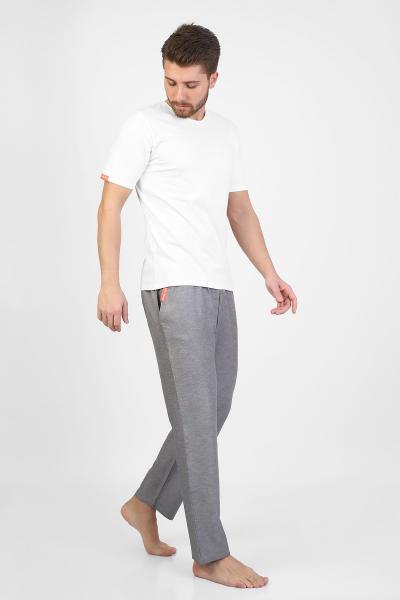 شلوار راحتی مردانه مدل 2021 برند Enzo Stanley رنگ نقره ای کد ty83711558