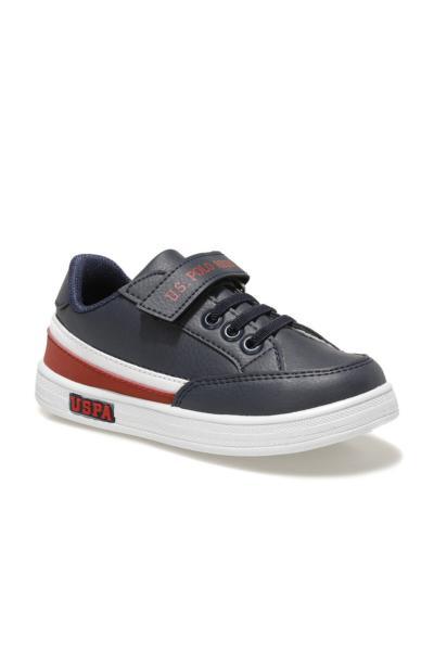 کفش اسپرت بچه گانه پسرانه ترک برند یو اس پولو رنگ لاجوردی کد ty85357749