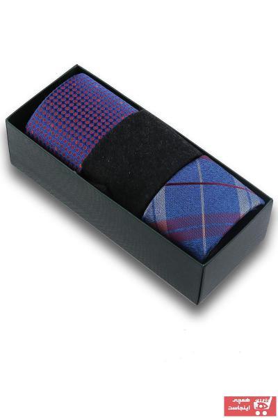 خرید پستی کراوات مردانه برند Kravatkolik رنگ مشکی کد ty86294056