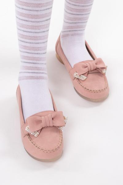 خرید اسان کفش تخت بچه گانه دخترانه فانتزی برند ZARU KİDS رنگ صورتی ty87049835
