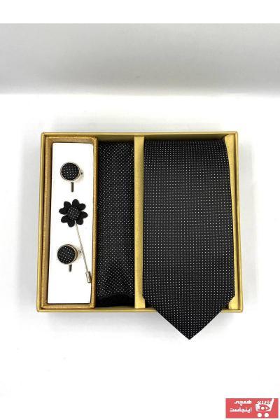 کراوات مردانه خفن برند by Gimente رنگ مشکی کد ty89192639