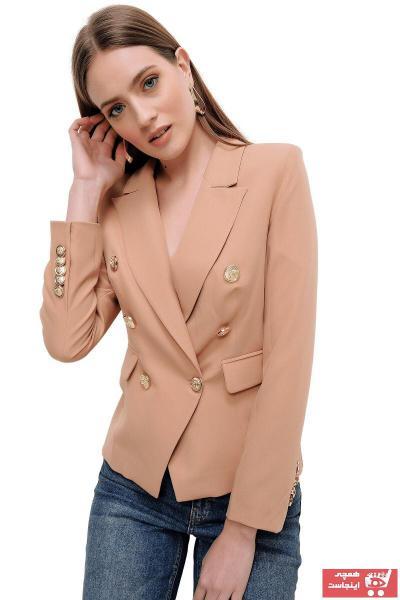 خرید ژاکت از ترکیه برند butikburuç رنگ قهوه ای کد ty89365026