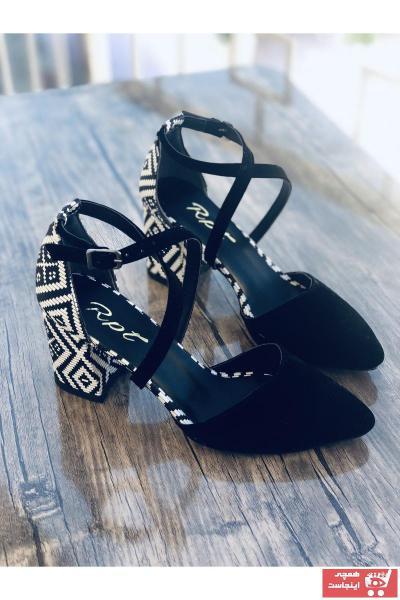 پاشنه بلند زنانه ارزان برند Mida Shoes رنگ مشکی کد ty89373775