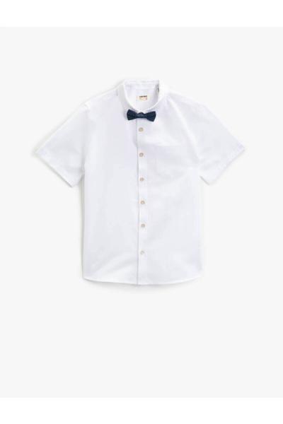 فروش پستی پیراهن پسرانه شیک جدید برند Koton Kids کد ty89612878