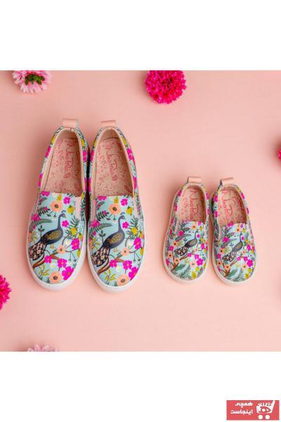 کفش تخت بچه گانه دخترانه 2021 برند NİNAPERLA رنگ سبز کد ty89810240
