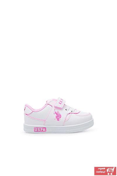 کفش اسپرت بچه گانه دخترانه ترک مجلسی یو اس پولو کد ty89952490