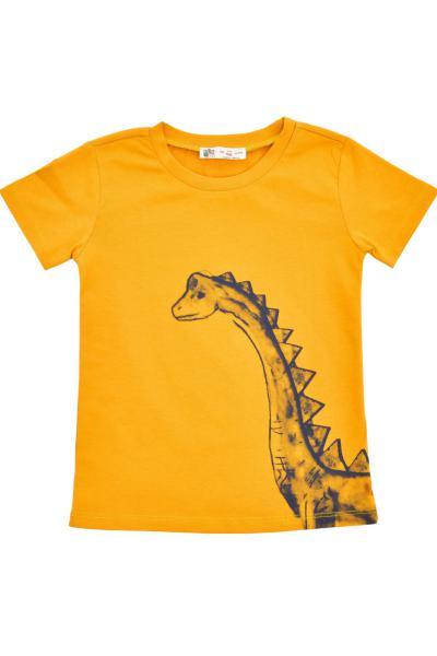 تیشرت ارزان نوزاد پسرانه برند DinoFor رنگ زرد ty90183111